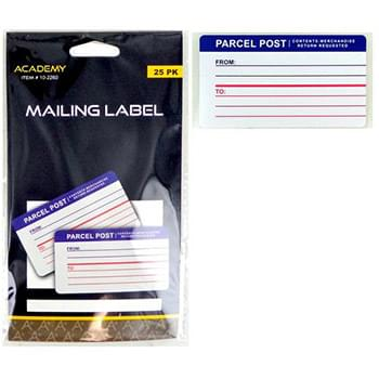 Mailing Labels 25 Pack