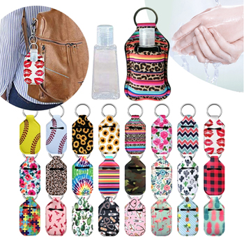 Key Chain Sanitizer holders - 24 styles, 12 each
