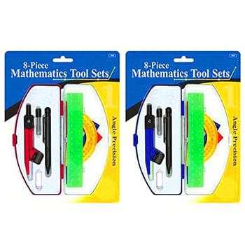 Mathmatics Tool Set In Case 8 Piece