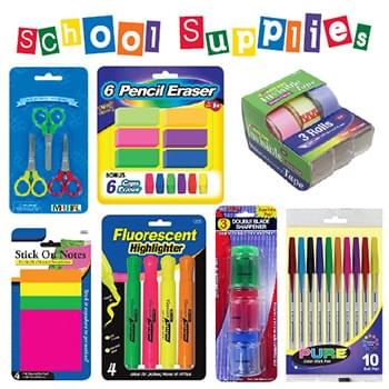 Component of Stationery + School Dump
