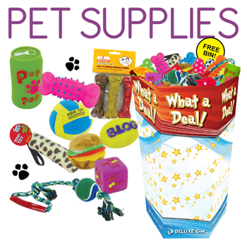 2.99 Pet Supplies 100 Pc Display