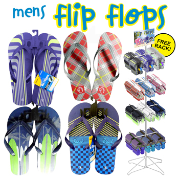 Men's Flip Flop 144pc display