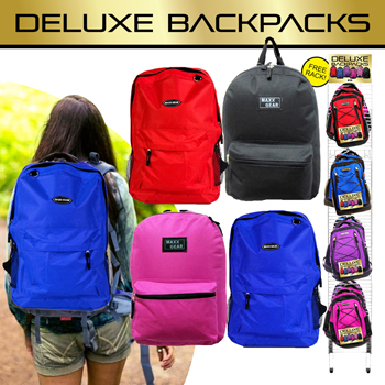 Deluxe BackPack 72 Pc Display