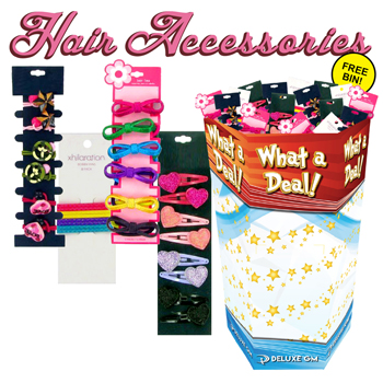 Hair Accessories 288 pc Display