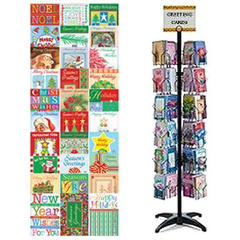 720pc Christmas Card Display