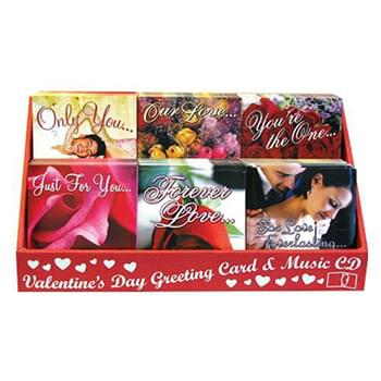 120 Pc Valentine CD Assortment