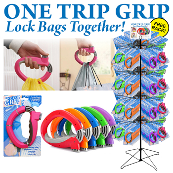 100pc Bag Holder Display