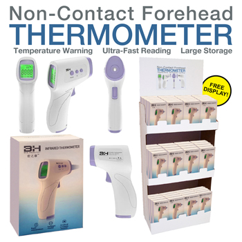 72 Pc Non Contact Thermometer Display