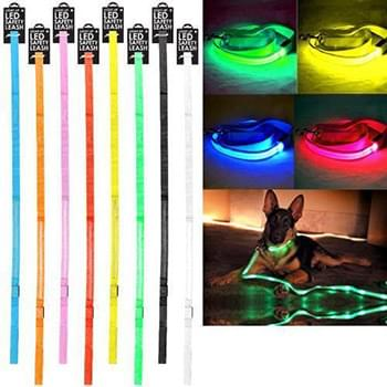 Led Dog Leash 48 Inch 8 Colors