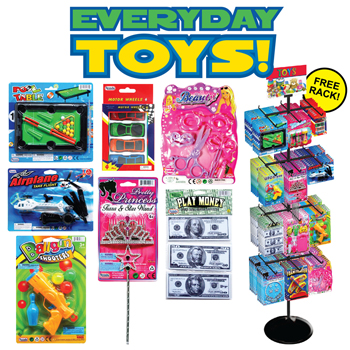 288 Pc Everyday Pre Mixed Toys