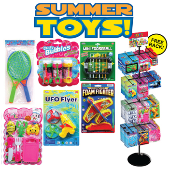 192 Pc Summer Pre Mixed Toys