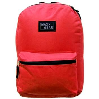 Maxx Gear Red Backpack