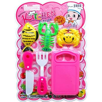 6pc Cooking Playset