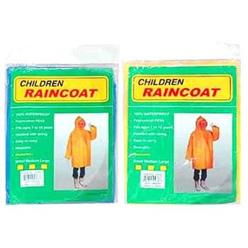 Children Rain Ponchos