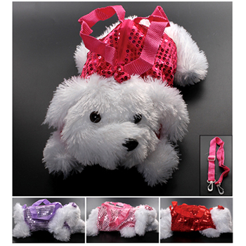 "10"" Dog Purse - 4 assorted colors"