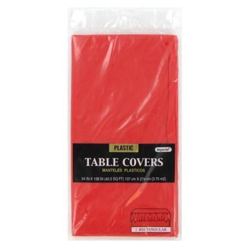 "Red Table Cover 54"" x 108"""