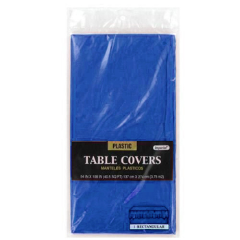 "Dark Blue Table Cover 54""  x 108"""