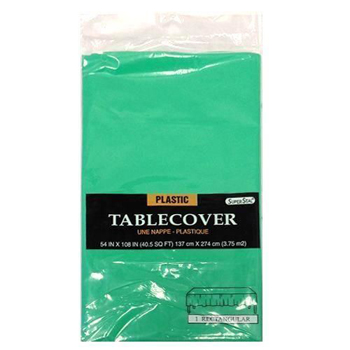 "Green Table Cover 54"" x 108"""