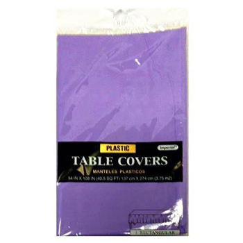 "Lavender Table Cover 54"" x  108"""