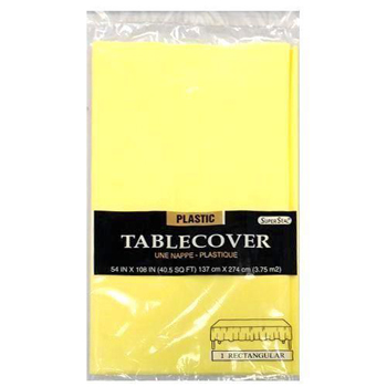 "Yellow Table Cover 54"" x  108"""