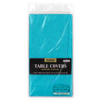 "Turquoice Table Cover 54"" x  108"""