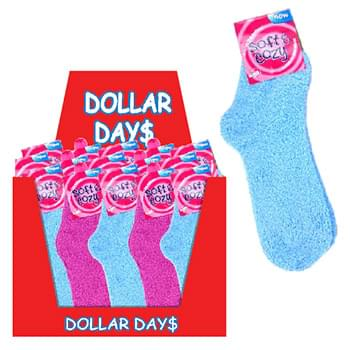 60 pc Cozy socks assorted