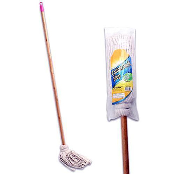 "14 Ounce Mop Head  & 47""  Wood Handle"