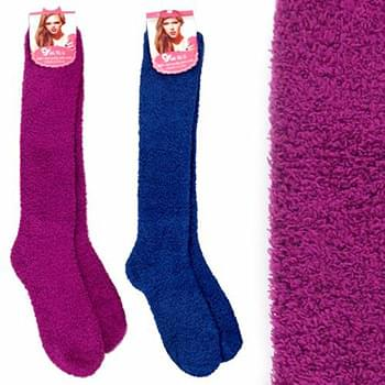 Cozy Socks Extra Long Solid 9-11