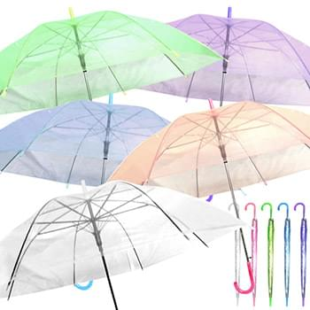 Umbrella with clear top