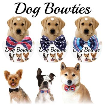 18 Dog Bow Ties - Assorted Styles