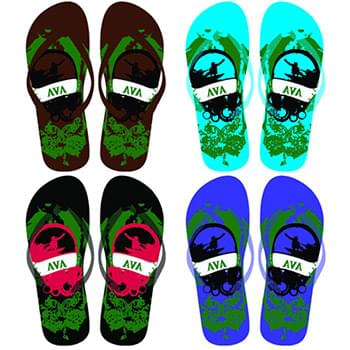 Boy's Flip Flops 4 assorted styles
