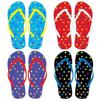 Girl's Flip Flops 4 assorted styles