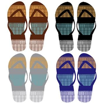 Men's Flip Flops 4 assorted styles