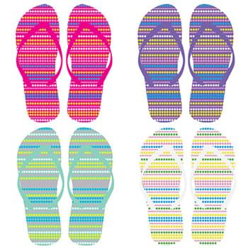 Ladies Flip Flops 4 assorted styles
