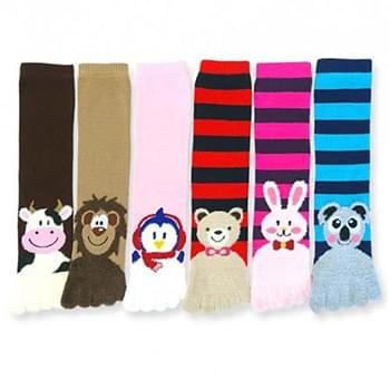 "Animal Toe Socks Size 9""-11"""